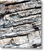 Abstract Rock Stone Texture Metal Print
