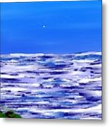 Sea.moon Light Metal Print