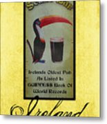 Seans Bar Guinness Pub Sign Athlone Ireland Metal Print