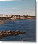 Seapoint From Salthill Metal Print