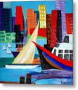Seaport Metal Print