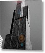 Sears Tower 2 Metal Print by BuffaloWorks Photography