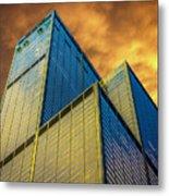 Sears Tower By Skidmore, Owings And Merrill Dsc4411 Metal Print