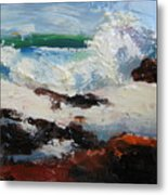 Seascape Aceo  Metal Print