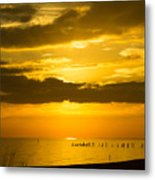 Seascape Gulf Coast, Ms G10i Metal Print