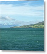 Seascape In Iceland On Summer  Metal Print