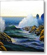 Seascape Study 3 Metal Print