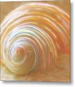 Seashell Sandy Fantasy Metal Print
