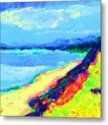 Seaside Green Metal Print