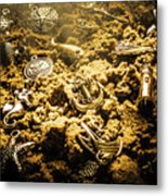 Seaside Of Creative Charms Metal Print
