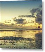 Seaside Palette Metal Print