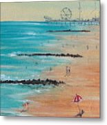 Seaside Metal Print