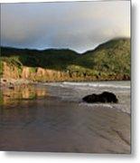 Seaside Reflections, County Kerry, Ireland Metal Print