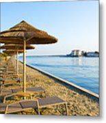 Seaside Time Metal Print