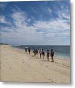 Seaside Walk Nosy Ve Madagascar Metal Print