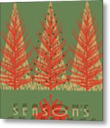 Season' Greetings 1 Metal Print