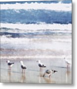 Seaspray Metal Print