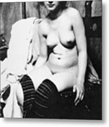 Seated Nude, C1910 Metal Print