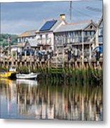 Seaton Harbour - Devon Metal Print