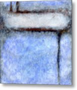 Seattle Afternoon Abstract Metal Print