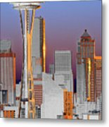 Seattle Architecture Metal Print