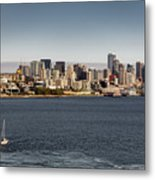Seattle By Sea Metal Print