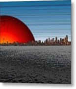 Seattle Dawning 2 Metal Print