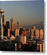 Seattle Equinox Metal Print