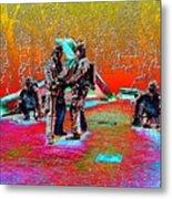 Seattle Fire Fighter Memorial Metal Print