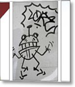 Seattle Graffiti Metal Print
