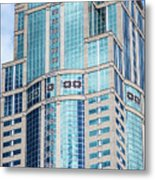 Seattle High Rise Metal Print