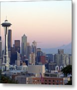 Seattle Metal Print by Larry Keahey