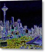 Seattle Quintessence Metal Print