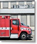 Seattle Ship Supply 1 Metal Print