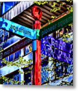 Seattle Sights Metal Print