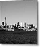 Seattle Skyline #2 Metal Print