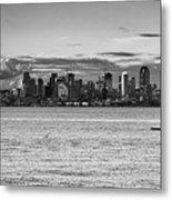 Seattle Skyline 3 Metal Print