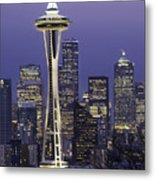 Seattle Space Needle 0200 Metal Print