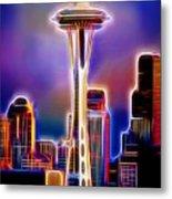 Seattle Space Needle 1 Metal Print
