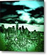 Seattle - The Emerald City Metal Print