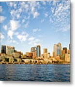 Seattle The Emerald City Metal Print