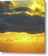Seaview Sunset 3 Metal Print