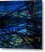 Seaweed And Other Creatures Metal Print