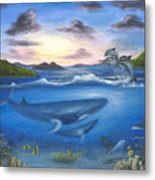 Seaworld Metal Print