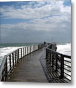 Sebastian Inlet On The Atlantic Coast Of Florida Metal Print