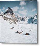 Seceda Dolomity, Italy  Metal Print