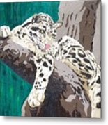 Secluded Grace Metal Print