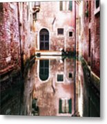 Secluded Venice Metal Print