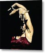 Seclusion Del Flamenco Metal Print