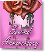 Second Anniversary Metal Print